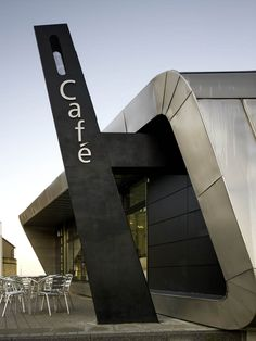 #Signage : The Silver Café / Arca Architects