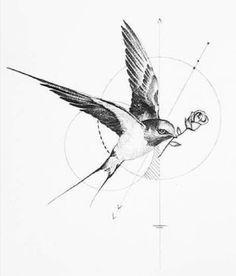 Tiny Bird Tattoos, Tattoo Art, Tattoo Designs, Ink, Beautiful, Tatoo, Interesting Tattoos, Tattoo Bird, India Ink