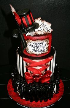 queen of hearts birthday cakes - Google Search