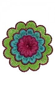 1.57 x 1.57 Inch Applique Embroidery Design