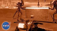 'Curiosity' Discovery? or just Clever Martians