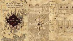 Mapa Maroto - Harry Potter