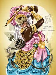 Oya Logunere by OradiaNCPorciuncula on DeviantArt Oya Goddess, Oya Orisha, Orishas Yoruba, African Mythology, Zen Art, Indigenous Art, Divine Feminine, Gods And Goddesses, Street Art