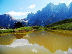 """Baita Segantini in Val Venegia"" Trentino  http://www.visittrentino.it/"