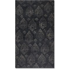 $1,427.80 Uttermost Himilaya 6 x 9 Hand Knotted Wool Rug - Dark Charcoal