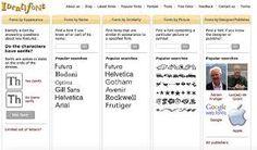 Resultado de imagen de tipografias y sus nombres