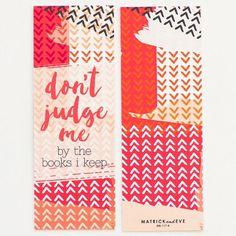 Don't Judge Me Bookmark