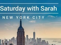 Le Creuset Saturday With Sarah in NYC Sweepstakes is giving to chance to Win Trip To enter the sweepstakes. Participants need to visit Contest hub 20 Year Anniversary, Online Contest, Online Sweepstakes, Win A Trip, Le Creuset, New York Travel, Empire State Building, New York City, Giveaway