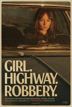 Girl. Highway. Robbery | flicknook.com #Flicknook