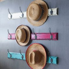Graham and Green: Wall Hooks: Hat and Coat Storage: Interiors: Decorating Ideas: Red Online