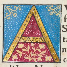 "Decorated initial ""A"" in Scriptores historiae Augustae 