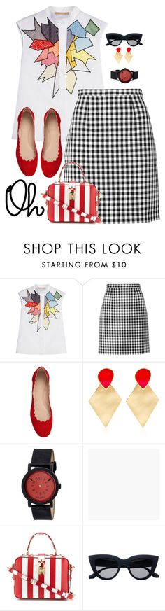 """""""Oh..."""" by kbarkstyle ❤ liked on Polyvore featuring Christopher Kane, Diane Von Furstenberg, Chloé, Silhouette, Simplify, Graham & Brown and Dolce&Gabbana"""