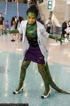 Lizard (Curt Connors) #Rule63 #cosplay