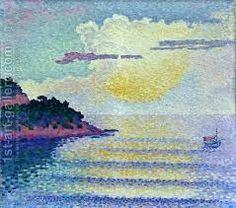 sunset - Henri - Edmond Cross