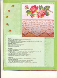 Ponto Cruz & Crochê n.01 - Walmes Vasconcelos - Picasa Web Albums