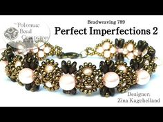 """This video teaches you how to make Zina's """"Perfect Imperfections"""" bracelet design, using Our Website (Shop online & find classes or bead store locations): ht..."""