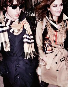 Preview the Burberry Autumn/Winter 2015 campaign introducing a new generation of the Burberry Family!