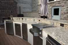 Outdoor Kitchen from Forshaw