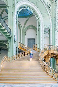 Grand palais paris-27 Art Nouveau, Art Deco, Paris Travel, France Travel, Paris France, Monuments, Beautiful Buildings, Beautiful Places, World Cities