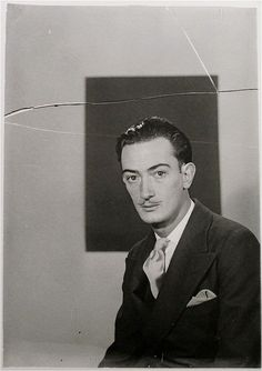 Salvador Dalí by Man Ray