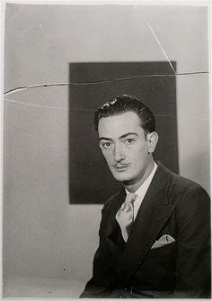 Salvador Dalí by Man Ray