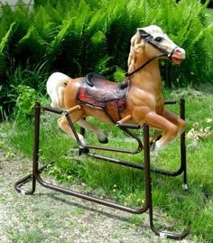 70s  Wonder Rocking Horse, Oh  my gosh I use to love mine!