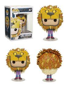 Harry Potter - Luna Lovegood in her Griffindor hat Harry Potter Pop Vinyl, Harry Potter Pop Figures, Cadeau Harry Potter, Objet Harry Potter, Luna Lovegood Funko Pop, Hogwarts, Funko Pop Dolls, Disney Pop, Pop Toys