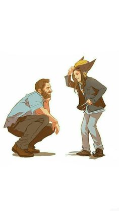 Logan and Laura. This movie was amazing. My heart.