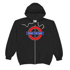 Mind The Gap - Unisex Zip Hoodie (c)