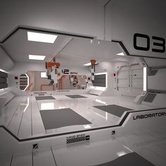 Sci-Fi Spacecraft Interior - Pics about space