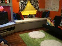 teens hangout room