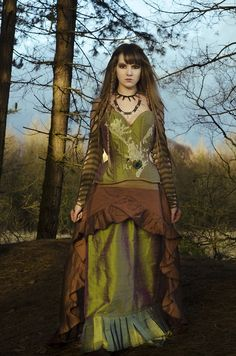 Fjorgyn - Norse Goddess of the earth by Waisted Creations.