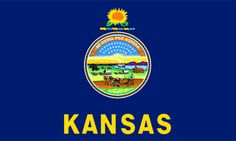I've seen all the Amber Waves of Grain I care to see! Been to Kansas a few times, certainly more than once. I must say, in my opinion, Ft. Riley is the best part of Kansas. It is very historic and very interesting. Kansas State Flag, Kansas State Flower, Kansas City, Us States Flags, Flag Store, Header, Let It Be, Map, History