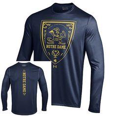 38bb4188d Under Armour Notre Dame Fighting Irish Hoops Basketball Tech Long Sleeve T- Shirt