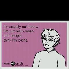 Me, me, me! Lol