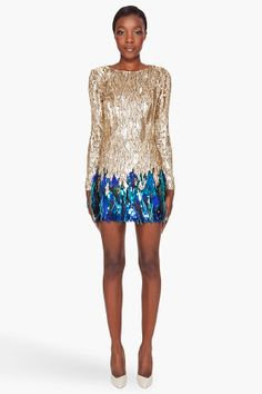 omfg, i love this. matthew williamson sequinned dress @sincerelyjules