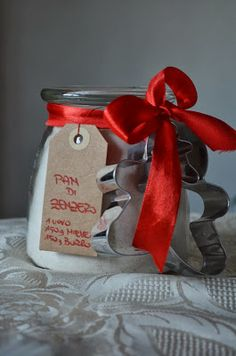 A #Natale regala una ricetta: Pan di zenzero in barattolo #gingerbread #diy in a #jar