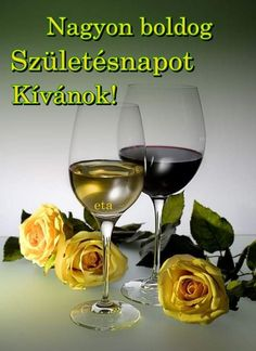 Red Wine, Alcoholic Drinks, Happy Birthday, Cards, Happy Brithday, Urari La Multi Ani, Liquor Drinks, Happy Birthday Funny, Maps