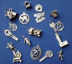 Vintage Silver Charms