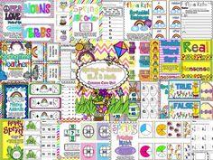Spring-a-licious ELA & Math Common Core Unit! Seusstastic Classroom Inspirations