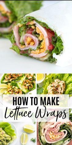 How to Me Lettuce Wraps: Keto Low Carb Lettuce Wraps Recipe