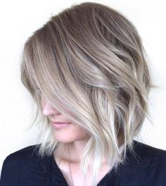 Obviously not this color, but I like the balata he shape on this hair
