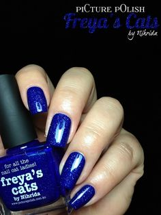Fashion Polish: piCture pOlish new collaborations : Electric Dream, Freya's Cats & Shy Violet