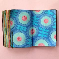 100 Days of Mini Sketchbooks by Molly Egan - ArtisticMoods.com