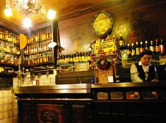 Taberna Antonio Sanchez, bar à tapas, Madrid (Espagne)