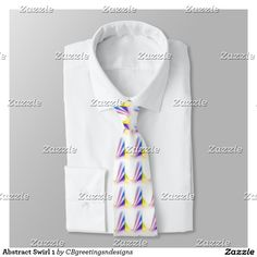 Abstract Swirl 1 Neck Tie