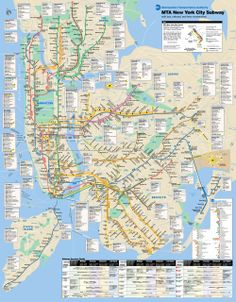 New York City Subway Map (metro): 2656x3400 px - 2300.03515625k - png