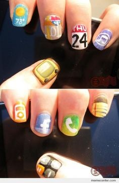 Nail Apps! #iPhone #beauty