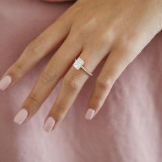 Rectangle Engagement Rings, Radiant Cut Engagement Rings, Elegant Engagement Rings, Engagement Rings Cushion, Yellow Engagement Rings, Engagement Ring Cuts, Elegant Wedding Rings, Emerald Cut Diamond Engagement Ring, Dream Wedding