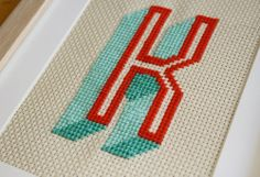 Monogram Cross Stitch